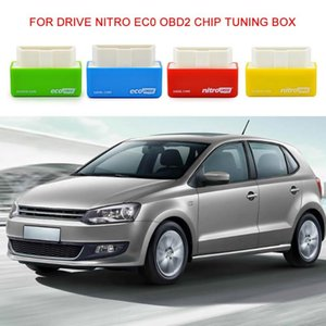 Universal Drive Nitro ECO OBD2 Chip Diesel gasoline Boosts Power Tuning Box Plug Driver For Cars 15% Fuel Save More Power