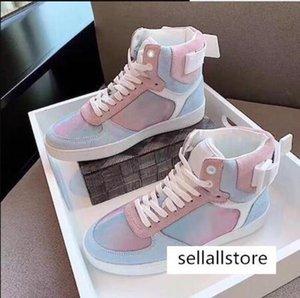 Erkekler Kadınlar Düşük üst Ayakkabı Deri için Tasarımcı Rivoli Sneaker Boot Yüksek Eğitmenler Boot 01 C22