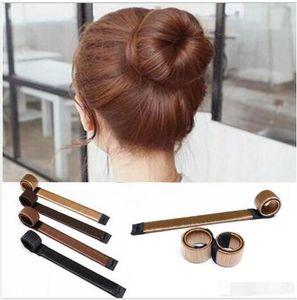 Diy Tool Hair Synthetic Wig Donuts Bud Head Band Ball French Twist French Magic Bun Maker Sweet Hair Braiders