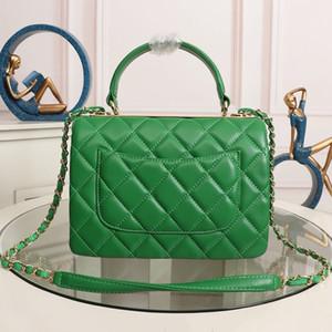 Top Quality Bolsas Bolsa Para Mulheres Real Leather Top Handle Tote Bags Fashion Designer design de ombro de luxo saco com hardware