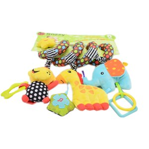 Niño Wrap Doll Relleno Color Función de peluche Lindo Bebé Regalo Multi Música Cama Animal Juguete Multi PQTKP