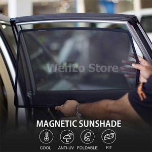 WENLO For LIVINA Murano NOTE NV350 E26 PULSAR Murano Magnetic Car Side Window Sun Shades Cover Mesh car curtain