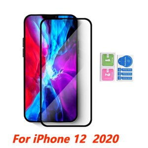 5D Tam Tutkal Temperlenmiş cam Ekran Koruyucu için Iphone 12 11 PRO MAX SE XS XR Moto e 2020 E7 G hızlı bir füzyon artı G8 güç lite Pro kapsar