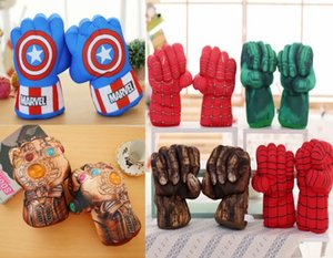 Captain America Thanos Hulk Faust Spiderman Iron Man Boxhandschuhe Außenhandel Amazon Plüschtiere Hot Products