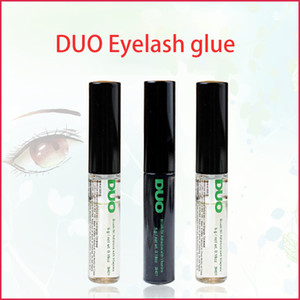 2020 Duo chegada pestana Adhesives Eye Lash Glue brush-on Adhesives vitaminas branco / claro / preto / 5g nova embalagem Maquiagem Tool