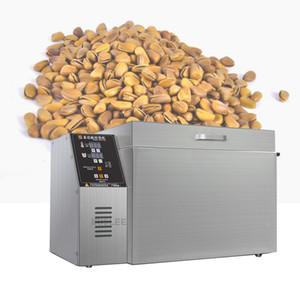 Vente chaude Machine à rôtir Nut multifonction en acier inoxydable commerciale arachide graines de tournesol machine à cuisson macadamia 220v