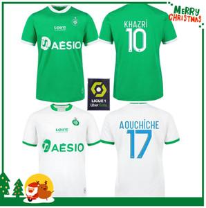 20 21 Saint Etienne Fútbol maillot de pie Youssouf 2020 2021 hombres + kids kit de fútbol CAMISA