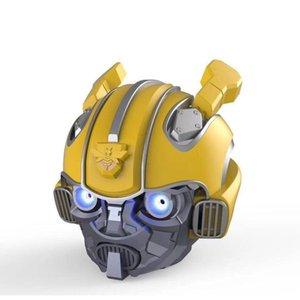 altoparlanti Bumblebee Bluetooth Speaker Mini Wireless Subwoofer Stereo Transformers LED lampeggiante BT boombox Per FM Mp3 TF