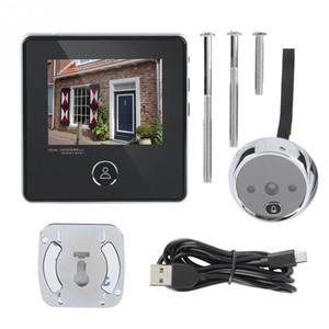 3,0 polegadas Camera Vedio Digital Peephole Campainhas 120 graus Wide Angle LCD a cores de tela eletrônica Peephole Doorbell Eye