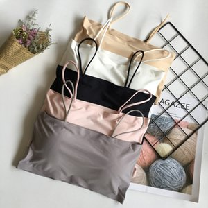 2019 summer New Ice Silk multi-color back-wrapped small suspenders all-match Sling backpack Underwear backpack girl bra underwear