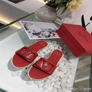 2020 printemps et en été nouvelles sandales en cuir confortables accessoires antidérapants lettre de qualité supérieure résistant à l'usure des chaussures de marque femmes br