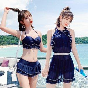 tre pezzi Bikini Swimsuit Corpo bastone fata 2019 sp femminile sbEYo l4iMs super-set del ventre conservatore copre dimagrante spaccato bikini sexy Ho