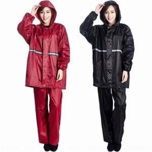 8AsIr TTmbU Yikelai de camada única divisão capa de chuva e chuva adulto solteiro Pode ser servido calças proteção da camada de não descartável coágulo de trabalho capa de chuva