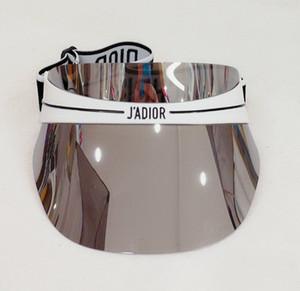 soleil mode chapeau anti-Ultr aviolet chapeaux de soleil chapeau de la marque transparente chapeau lunettes de soleil dégradé de couleur dazzle PC taille réglable 56-62cm JOY02A