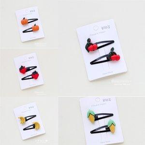P-236 Corea joyas de dibujos animados lindo del pelo cuerda cuerda bebé banda de goma de los niños de frutas vegetales de la goma del pelo pequeña