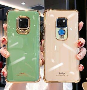 Huawei karşıtı sonbahar electroplated telefon mate30pro dört köşe ses yumuşak durumda mate20 mate20pro