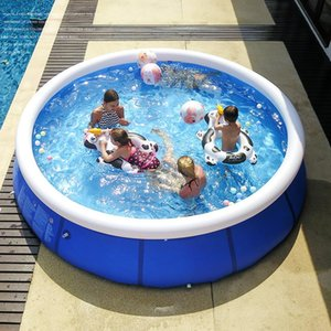 High quality Outdoor Inflatable Swimming Paddling Pool Yard Garden Family Kids Play Large Adult Infant Inflatable Swimming Child Ocean Plus