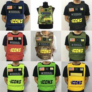 Tactical caça respirável Vestuário Harness ajustável Tamanho Formação Hunting Molle Homens Vest Harness Uma Shepherd # 175