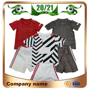 20/21 United # 6 Pogba Kit kits futebol jerseys 2020 Manchester casa vermelho alexis mata crianças camisa de futebol lukaku uniforme de futebol marcial