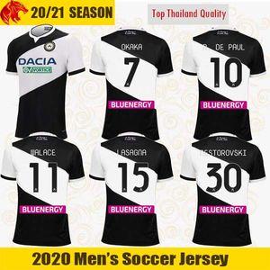 20 21 maillots de football Udinese OKAKA 2020 2021 Udinese Calcio LASAGNA DE PAUL maillot de football CRISTO WALACE NESTOROVSKI maillot de football