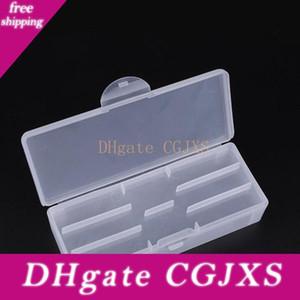 Nail Art Rectangle Прозрачный пластиковый ящик для хранения ногтя Ставить точки рисования кисть Полировка губки буфера Контейнер No287