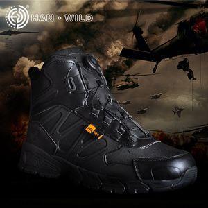 Exército BHxEL automaticmid-braço combate ao ar livre segurança de combate deserto montanhismo sapatos montanhismo e War cidade botas botas de guerra sapatos com