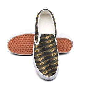 캐주얼 벤틀리 로고 배경 화면 남녀 공용 캔버스 낮은 위로 미끄럼 방지 신발 디자인 팝 한정판 배경 화면 럭셔리 자동차 음영 검은 색 인쇄