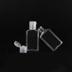 Kapaklar Temizle Doldurulabilir E Liquid İçin El Temizleyici şişeler 30ml Jel Handy Şişeler Plastik Mini Seyahat Şişe boşalt çevirin