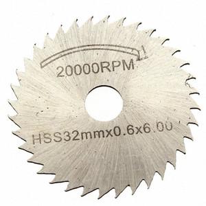 Kits de 6 piezas de hoja de sierra HSS Circular Drive Decoupe Dent Para Dremel Rotary Tool CW7l #