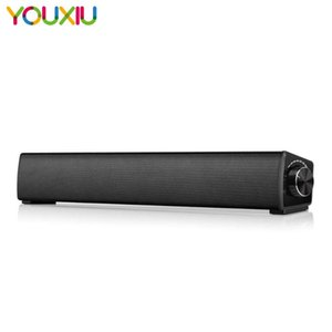 PC Soundbar Bluetooth 5.0 Mini Computer falante estéreo com fios sem fio de áudio Sound Bar para o telefone móvel Tablets desktop Laptops