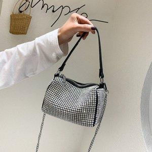 Rosa Sugao 2020 neue Art und Weise Handtaschen-Frauen-Schulter-Beutel Drei Stile Taschen Bucket Bag Waist Taschen Kissen Taschen mit Diamant-Dame-Geldbeutel BH GX32 #