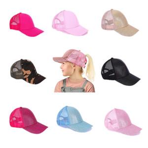 Coda di cavallo Cappello di baseball estate Camo baseball Mesh Cap Outdoor Sports Visiera Cappellino Snapback Caps con logo