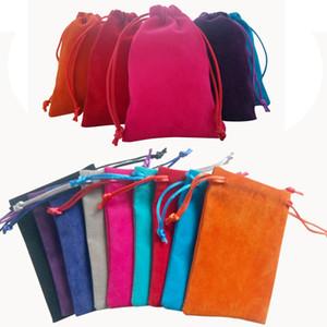 Joyería cosmética cosmética bolsos de lazo del bolso del organizador de bolsillo portátil colorido del perfume palillo de dientes del lápiz labial bolsa de regalo bolsa de almacenamiento BH4002 TQQ