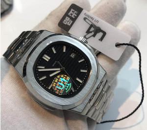 U1 공장 19 색 Mens 시계 자동 무브먼트 글라이드 진열 초침 sapphire 유리 실버와 골드 손목 시계