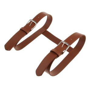 Carrying Strap For Picnic Blanket Throw Travel Rug Brown Leather Carry Strap for Swimming Towels Beach Sun Lounging Mat