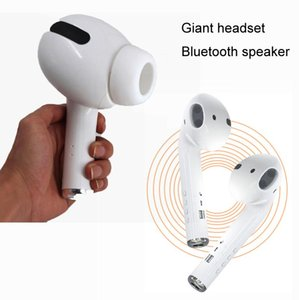CGJXSove Gigante Bluetooth Headset Speaker Sem Fio Bluetooth Speakers Fone de Ouvido Modelo Loudspeaker Presente Criativo Hot Web Celebrity Speake