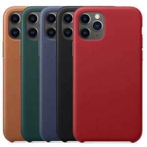 Perakende Kutusu ile iphone 11 Pro Max Vaka Resmi Vaka İçin iphone Xs Max Xr 8 Artı 7 için Orjinal Gerçek Deri Kılıf