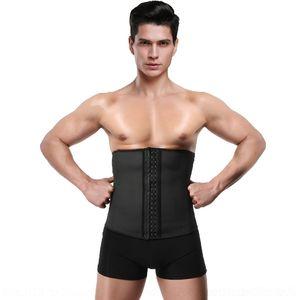 Hej34 HKhpy pancia pantaloni sportivi vita-legato collant 4 Acciaio pantaloni stretti LaTeX lattice degli uomini di collant stretti Uomo