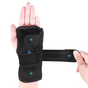 Aolikes 1PCS pulso Talas pulso Suporte Brace para a artrite tendinite sono da noite com palma Cushion Pad Direita Esquerda