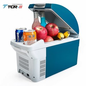 TTCR-II محمول تبريد 6L ثلاجة صغيرة DC12V سيارة ثلاجة طالب سكن التبريد صندوق اللمس التجميد الصامت السيارات الثلاجة T200819