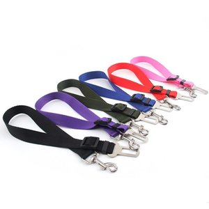Pet Dog Cat Car Seat Belt Adjustable Harness Seatbelt Lead Leash for Small Medium Dogs Travel Clip Pet Supplies