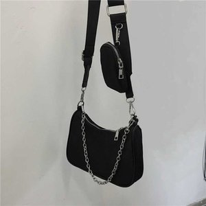 new shoulder bags handbags High quality Crossbody bag Heart-shaped decoration Tarpaulin Nylon bag wholesale Shopping Bag