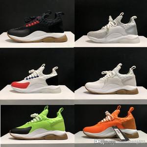 2020 nuova catena di arrivo di reazione 2.0 Designer Shoes Mens casuali delle scarpe da tennis delle donne Scarpe De Homme Femme Croce Chainer Suede Fluo Verde