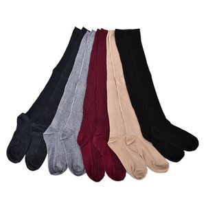 Winter Warm Solid Boot Topper Sock Hot Sale Women Knitting High Over Knee Ruffle Trim
