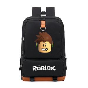 مصمم-2019 Roblox عبة على ظهره عارضة للمراهقين للأطفال بنين مدرسة الأطفال الطالب حقائب الكتف حقيبة السفر للجنسين أجهزة الكمبيوتر المحمول حقائب 3