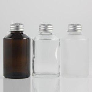 China Lieferanten leeren Toner Glasflasche mit Deckel, 125ml Dropper kosmetische Behälter