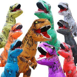 Cadılar Bayramı Şişme Giyim Çocuk Dinozor Şişme Giyim Tatil göster Parti Noel arifesi Giyim maskot kostüm