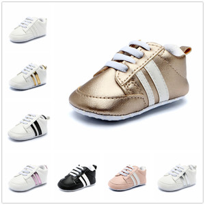 Designer Toddler Kids Shoes baby Girls boys Children Newborn Fashion Soft Sole Shoes First Walkers Infant Sneakers 8 color A0141