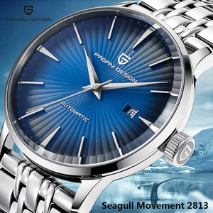 PAGANI DESIGN Men's Watches Business Automatic Date Wristwatch Mens Top Simple Mechanical Watch Relogio Masculino