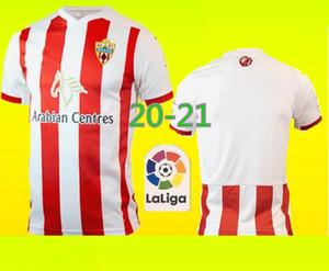 2020 2021 Unión Deportiva Almería Futebol 14 GUTI Sekou MUNOZ CHEMA LAZO GASPAR PETROVIC casa personalizada 20 21 Adulto camisas de futebol